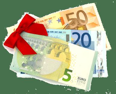 euroscheine-mit-roter-schleife