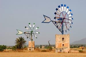 Psychosomatische Grundversorgung - Seminar - Kurs - Seminarorganisation - Fuchs - historische Windmühlen auf Mallorca