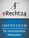 Psychosomatische Grundversorgung - Seminar - Kurs - Seminarorganistion - Fuchs - erecht24 Siegel Impressum blau